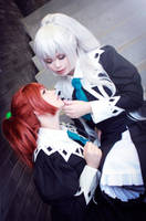 Strawberry Panic Cosplay - Shizuma and Nagisa. by TineMarieRiis
