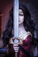 Wonder Woman - The God Killer - Cosplay by TineMarieRiis