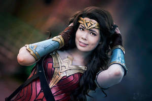 Wonder Woman Cosplay - Smile by TineMarieRiis