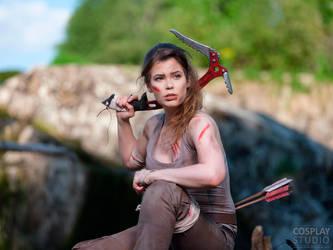 Life is just a big adventure! - Lara Croft Cosplay by TineMarieRiis