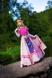 The Legend of Zelda - Ocarina of Time, Zelda! by TineMarieRiis