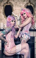 Emily DearHeart and Kelly Eden by KellyEden
