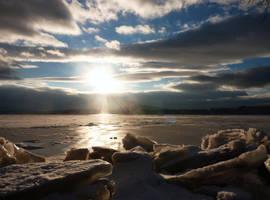 River Ice by DadaKool