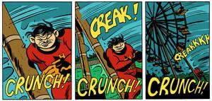 Creak! Crunch! by MRNeno