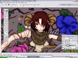 Melancholy color - WIP by Elomina