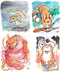 Critters by jokumarsu