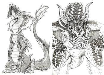 Dragon things by jokumarsu