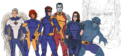 Astonishing X-Men 2 - Redesigns by NiteOwl94