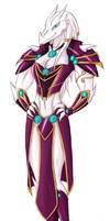 Kai- Dragonborn female Coloure by she-ookami
