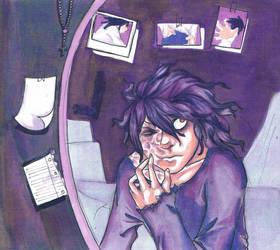 I used to look like him. by Aishi-kun