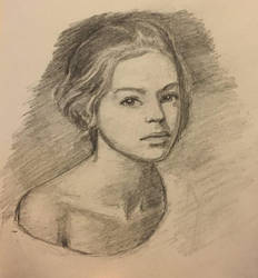 Quick Portrait by xxmihoxx