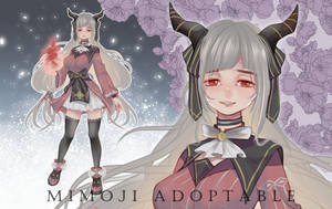 (closed)Adoptable Auction #monster girl by mimojiX