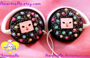 Cousin Dipp mini headphones by Iheartnella