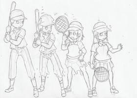 Request:Baseball Player Gender Bender by WongSsj