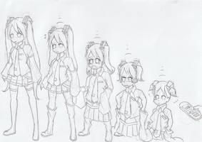 Request: Hatsune Miku Age Regression by WongSsj