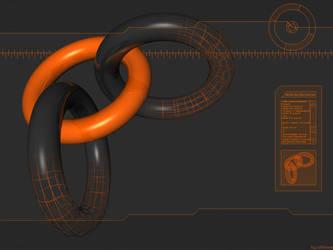 First 3D Torus by ollienek