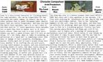 Character Comparison #18: Avid Pranksters by RaccoonBroVA