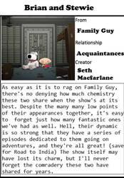 Beautiful Bonds #5 - Brian and Stewie by RaccoonBroVA