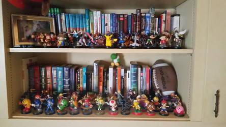 Amiibo Collection by RaccoonBroVA