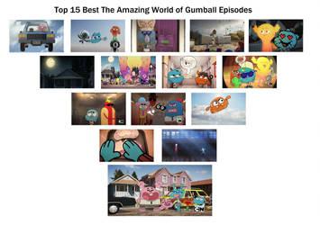Top 15 The Amazing World of Gumball Eps (Season 4) by RaccoonBroVA