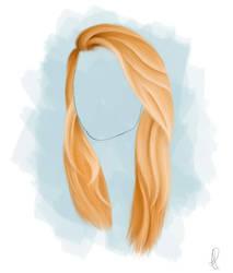 Hair Study1 by icerynn
