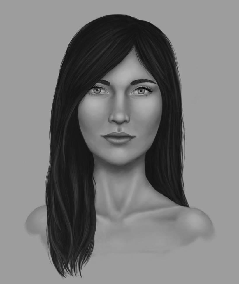 Portrait study by icerynn