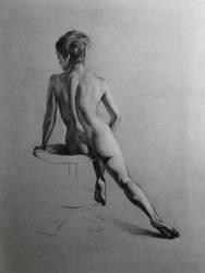 Figure Study by Maciesowicz