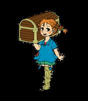 Pippi Longstocking by nya-nannu