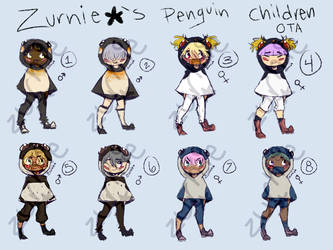 Penguin Children OTA [CLOSED] by Zurnie