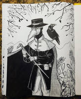 Plague Doctor by Kimchi-McGee