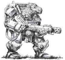 Nexus: Dino Helot by dannycruz4