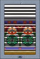 20120623-Egyptian-Glass-On-Corrugated-Aluminum-v14 by quasihedron