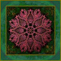 20160524-Bamboo-Doily-Mandala-v11 by quasihedron
