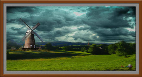 QH-20180910-Windmill-During-Ominous-Weather-v3 by quasihedron