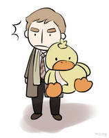 Wilson and ducky by mang2
