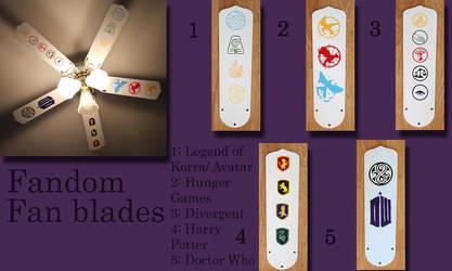 Fandom Fan blades by Lufca