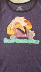 Jasper Sun's Out Guns Out Tank Top by Lufca