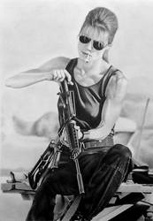No fate but what we make... Sarah Connor by Statham75