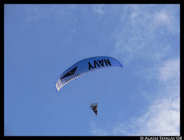 Navy paraglider by alasse91