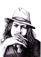 johnny depp by darkman4e