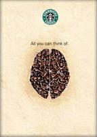 Starbucks Coffee poster design by darkman4e