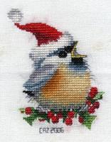 Festive Chickadee by gatchacaz