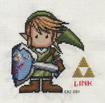 Link in Stitches by gatchacaz