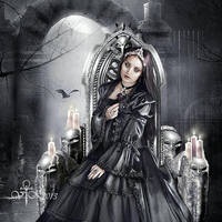 The Black Rose by vampirekingdom