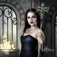 The Priestess by vampirekingdom