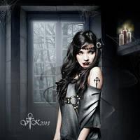 At Lock the Door by vampirekingdom