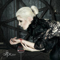 Drinks my Blood of the Cup and Lives Forever by vampirekingdom