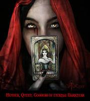 Goddess of eternal Darkness by vampirekingdom
