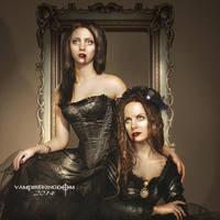 Sisters by vampirekingdom
