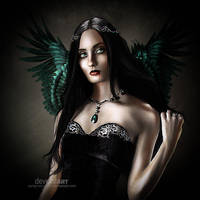 The Angel of Darkness by vampirekingdom